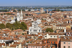 Panoramic views of Venice Stock Photography