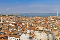 Panoramic views of Venice Royalty Free Stock Image