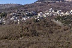 Panoramic views of village Vitsa, Zagori, Epirus Stock Photo