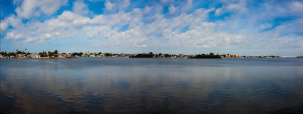 Panoramic Water View Royalty Free Stock Photos