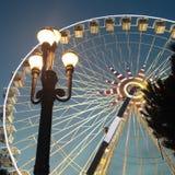 Panoramic Wheel Stock Photo