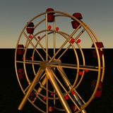 Panoramic wheel Royalty Free Stock Images