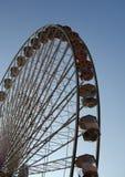 Panoramic wheel under a perfect sky. Panoramic wheel under a perfect blue sky Royalty Free Stock Image