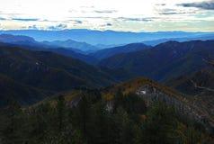 Panoramic winter vista Royalty Free Stock Photography