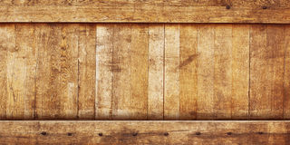 Panoramic wood texture Royalty Free Stock Photo