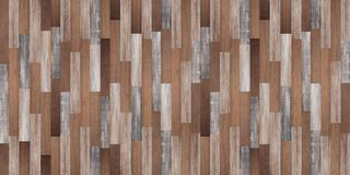 Panoramic wood texture background, Seamless wood floor royalty free stock photography