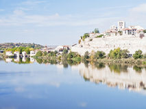 Panoramic Zamora Royalty Free Stock Images