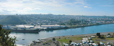 Panoramica de Puerto Montt Stock Photo