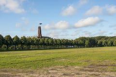 Panoramica del parco Malieveld, L'aia, Olanda della città Immagine Stock Libera da Diritti