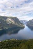 panoramica del Sognefjord Immagine Stock Libera da Diritti