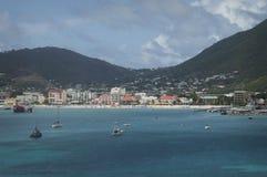 Panoramica dell'isola di St Thomas, VI Immagine Stock Libera da Diritti