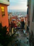 Panoramica della città fotografia stock libera da diritti
