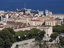 Panoramica della città del Monaco, Monaco Immagini Stock