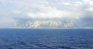 Panoramica della costa della Tunisia Fotografia Stock