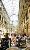 Panoramica delle gallerie Umberto I, Napoli Fotografia Stock