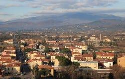 Panoramica di Arezzo Fotografie Stock