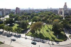 Panoramica di Avana, Cuba Immagine Stock