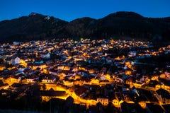 Panoramica di Brasov Fotografia Stock Libera da Diritti