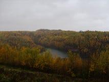 Panoramica di caduta del centro di scoperta del Minnesota Immagini Stock Libere da Diritti