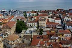 Panoramica di Nafplio Fotografia Stock
