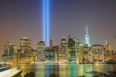 Panoramica di New York Fotografie Stock