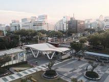 Panoramica di Sakae Fotografia Stock Libera da Diritti