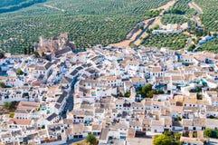 Panoramica Zuheros, rdoba del ³ di CÃ Immagine Stock Libera da Diritti