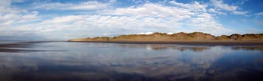 Panoramico in Barmouth. Il Galles Immagini Stock