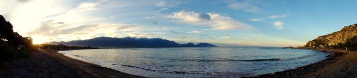 Panoramico costiero Immagini Stock Libere da Diritti