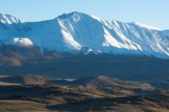 Panoramico della cresta di Altai-Chuya, Siberia ad ovest Fotografia Stock