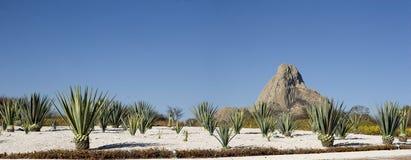 Panoramico di Bernal fotografie stock
