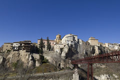 Panoramico di Cuenca, Spagna Immagine Stock Libera da Diritti