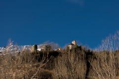 Panoramico nell'immagine di angolo basso della città di BadaÃn Immagine Stock