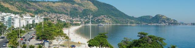 Panoramiczna fotografia plaża Charitas Zdjęcie Stock
