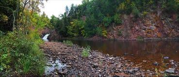 panoramiczna wodospadu Zdjęcia Stock