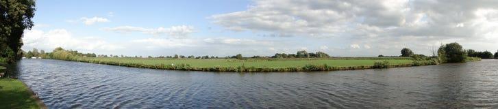panoramicznego widok woda Obrazy Stock