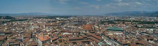 Panoramicznego widoku miasto Florencja Zdjęcia Stock