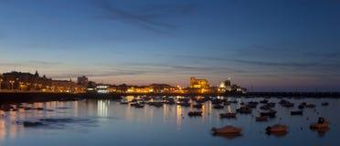 panoramiczni castro urdiales zdjęcia royalty free