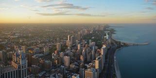 Panoramiczny Chicago - północna strona obraz stock