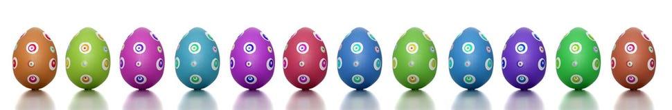 panoramiczny Easter czas Zdjęcia Stock