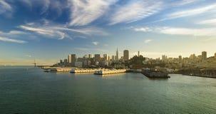 panoramiczny Francisco widok San Zdjęcia Stock