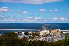 panoramiczny Gdynia widok Fotografia Royalty Free