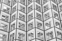 Panoramiczny i perspektywiczny szeroki kąta widok stalowego błękita backgrou Fotografia Royalty Free