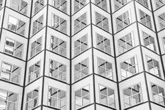 Panoramiczny i perspektywiczny szeroki kąta widok stalowego błękita backgrou Fotografia Stock