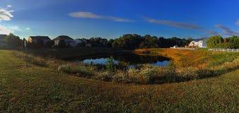 Panoramiczny jezioro Zdjęcia Royalty Free
