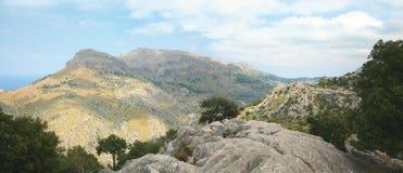 panoramiczny krajobrazowy majorca Obrazy Stock