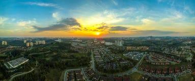 Panoramiczny miasteczko Putrajaya, Malezja obrazy stock