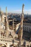 panoramiczny Milan widok Zdjęcie Stock