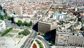 panoramiczny Milan widok Fotografia Royalty Free