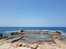 panoramiczny morze Obrazy Stock